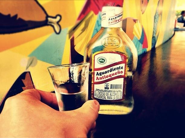 Colombian Drinks Aguardiente Antioqueno